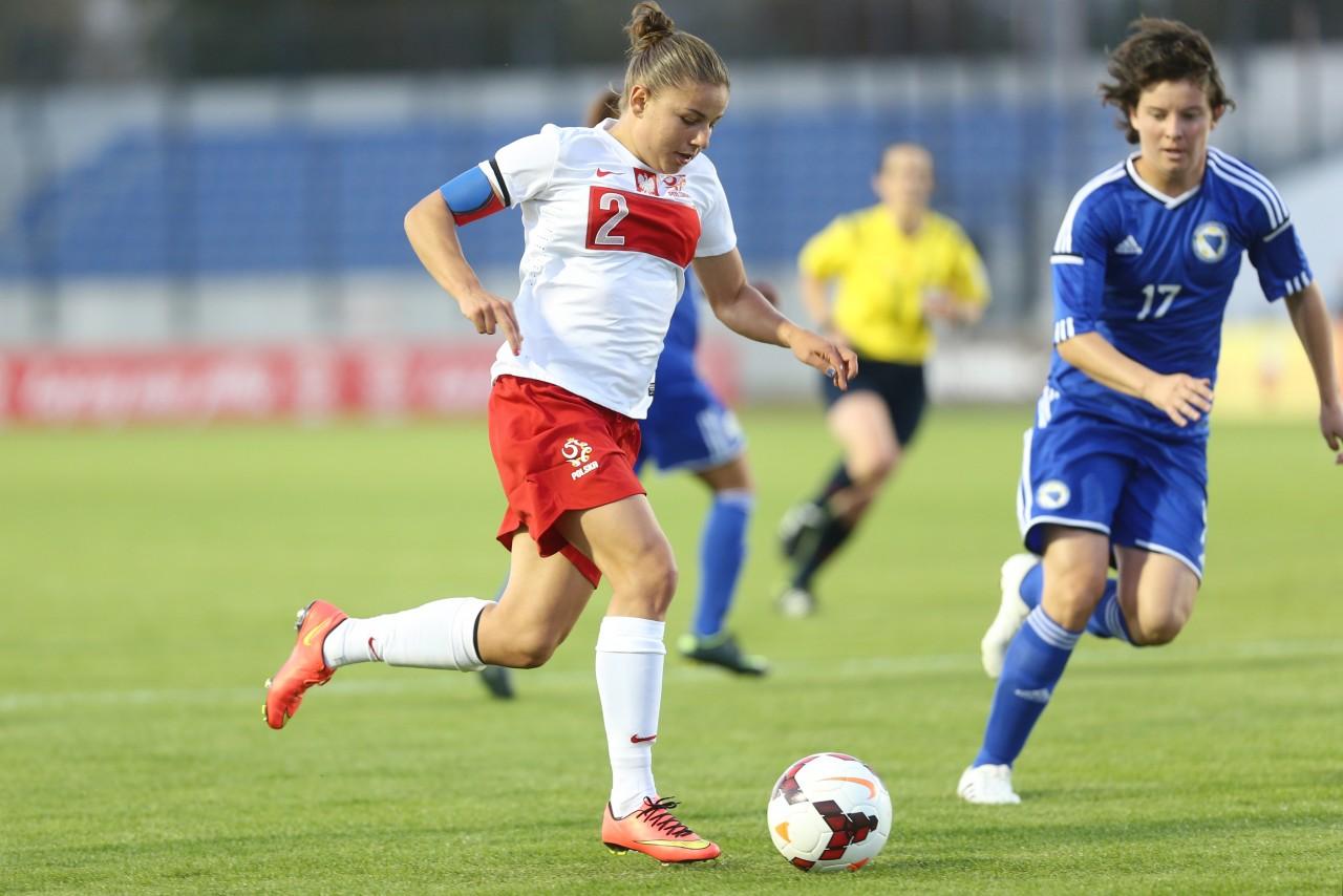 piłka nożna kobiet Nowy Sącz