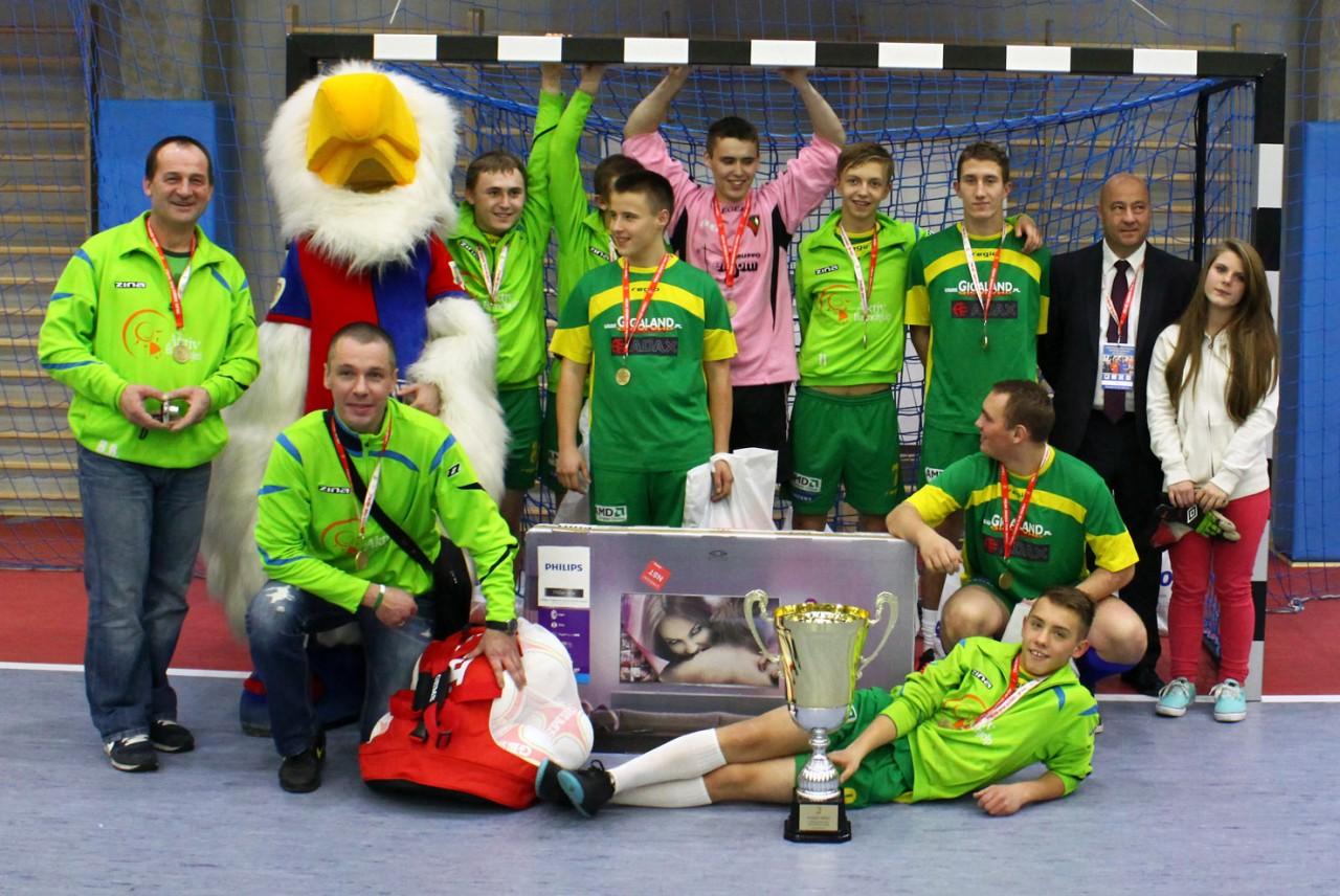 I Mistrzostwa Polskich Domów Dziecka w Futsalu