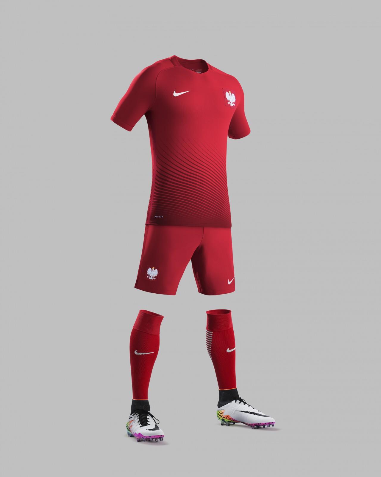 Nike przedstawia nowe stroje reprezentacji Polski Łączy