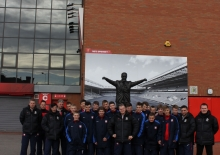 U-15s  VISITED  LIVERPOOL FC ACADEMY