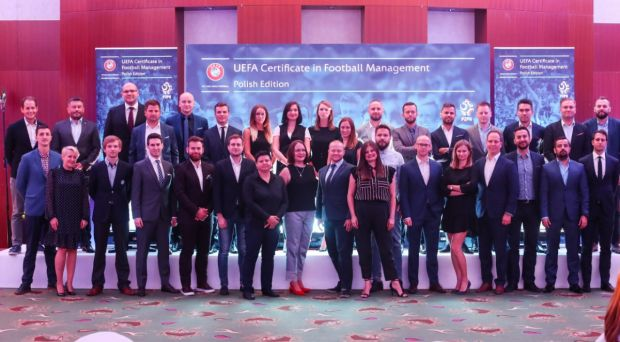 UEFA CFM graduation ceremony in Poland