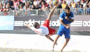 Euro Beach Soccer League in Sopot